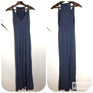 Gap Voyages Blue Maxi Dress